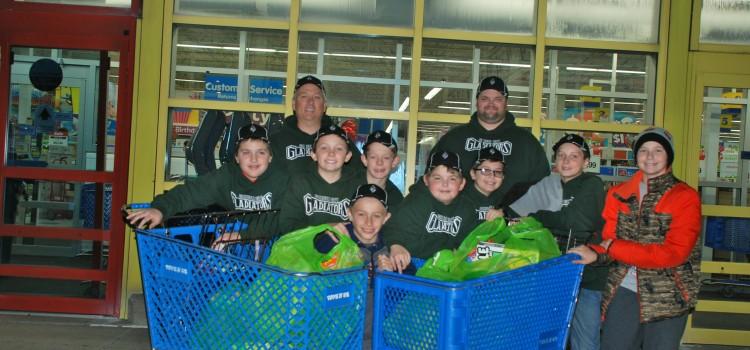 Westland Gladiators Baseball Team Hosts Holiday Event for Orchards