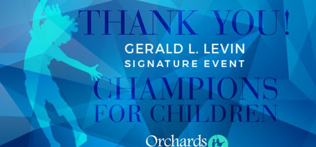 Orchards Signature Event Sponsors 2018