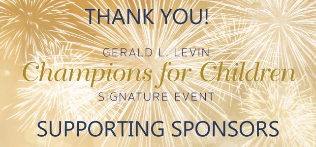 2019 Signature Event Sponsors